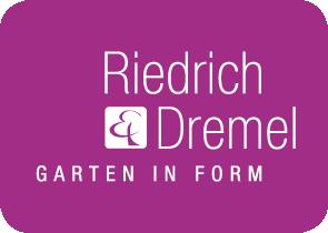 Riedrich und Dremel Logo Garten in Form
